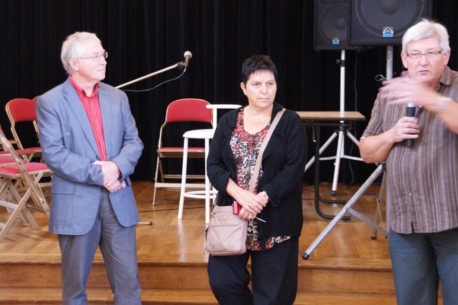 Daniel Bersweiler, Diana André et Pierre