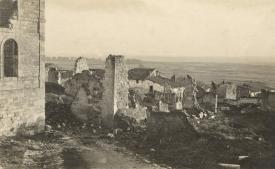 3 ruines en 1917