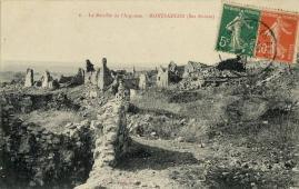 4 ruines de montfaucon
