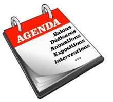 Agenda du mois