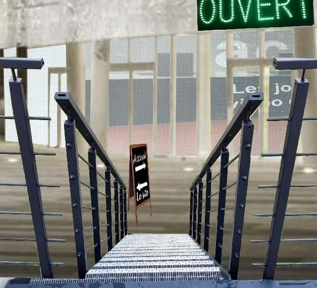 Escalier lumiere 1