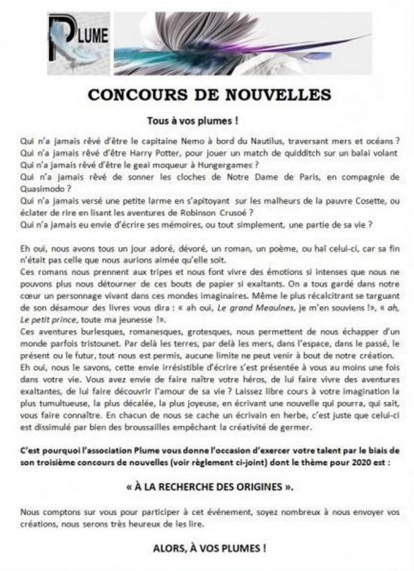 Info concours