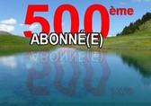 Cadeau 500e abonné(e)
